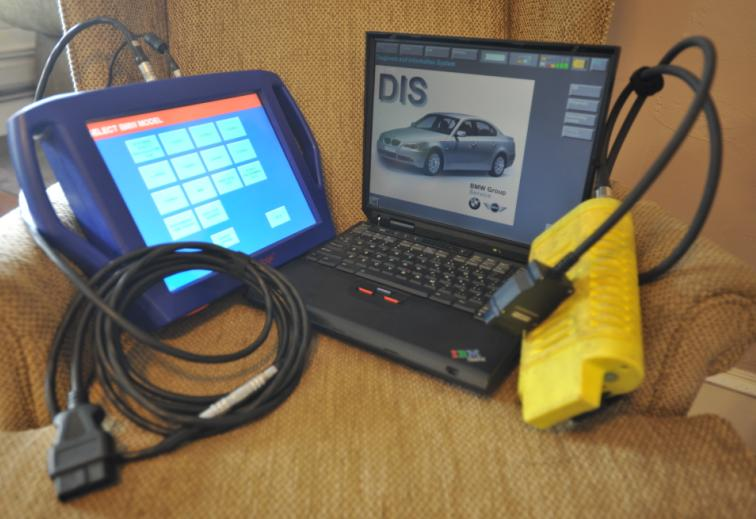 Our Diagnostic Equipment: Autologic (on left) and GT1 (on right)